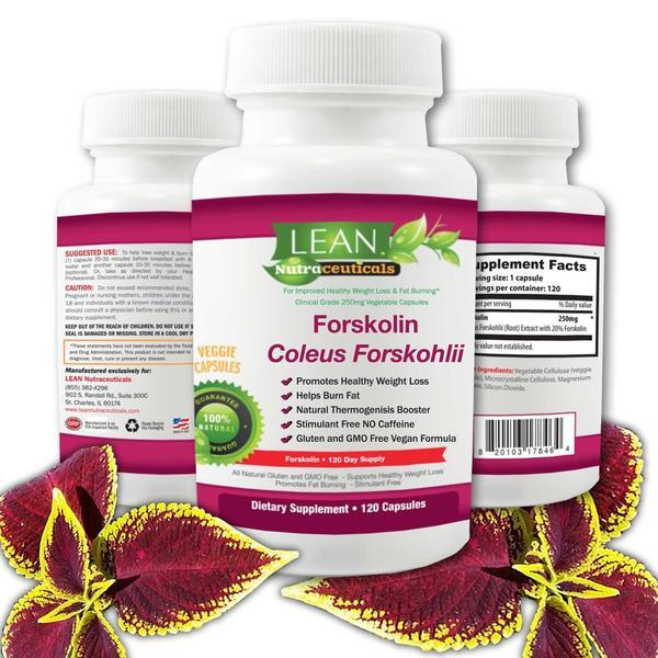 Lean Nutraceuticals Forskolin Coleus Forskohlii Lean Nutraceuticals